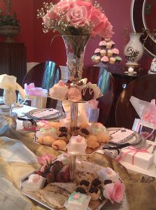 Three-Tier Dessert Tray for Tea Party Baby Shower