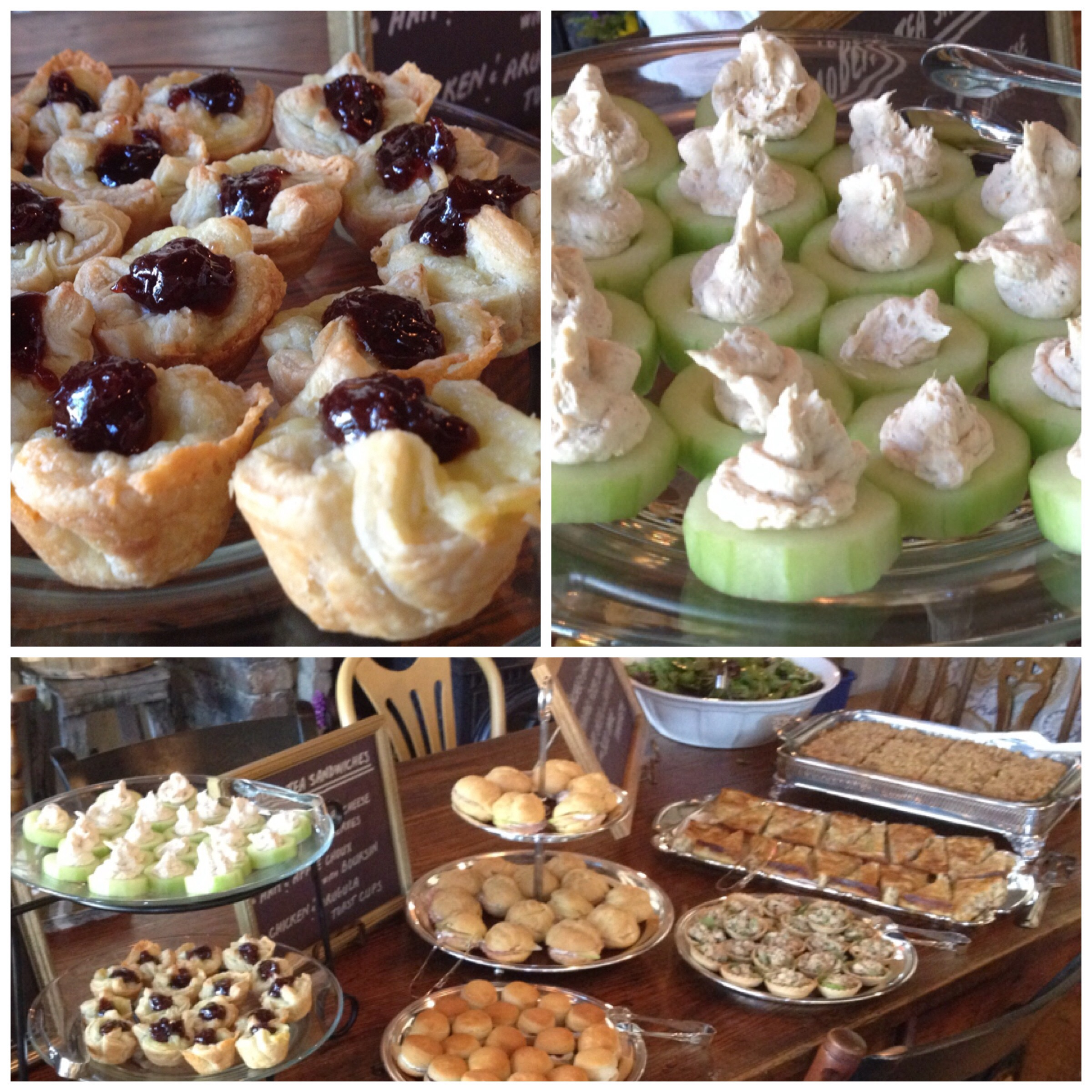 artisanal cheese and fruit display finger foods at harry potter themed bridal shower brunch