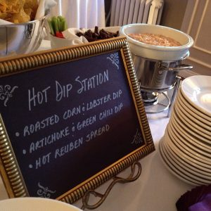 Hot Dip Station at customer appreciation party